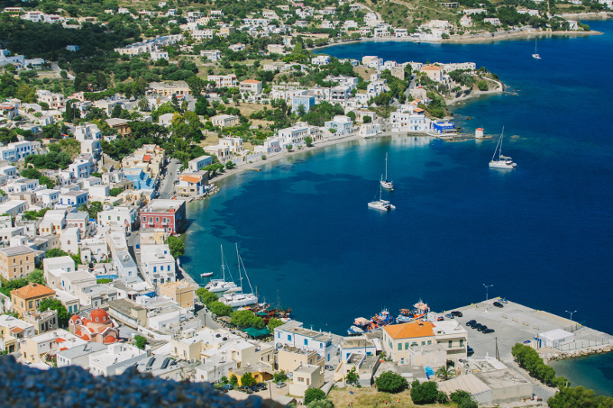 destination wedding in Leros